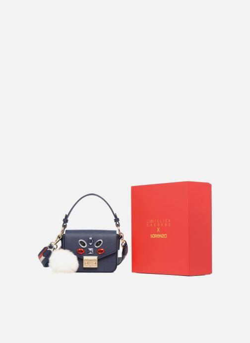 Handtaschen Sarenza x L'Aetelier Caesars Funny blau detaillierte ansicht/modell