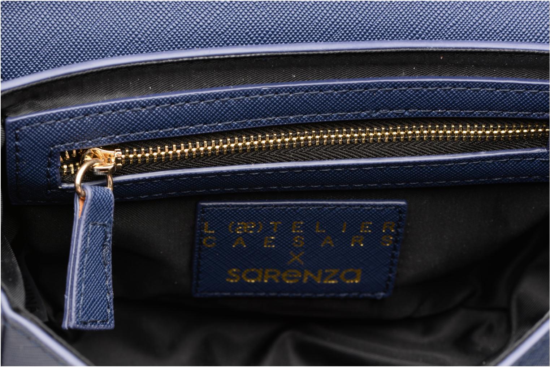 Sacs à main Sarenza x L'Aetelier Caesars Funny Bleu vue derrière
