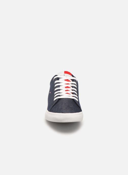 Sneaker Tommy Hilfiger ESSENTIAL LONG LACE SNEAKER blau schuhe getragen
