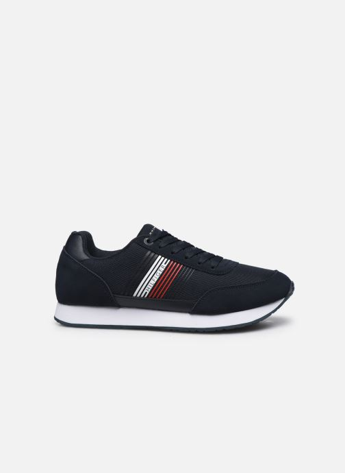 Sneakers Tommy Hilfiger CORPORATE MATERIAL MIX RUNNER Azzurro immagine posteriore