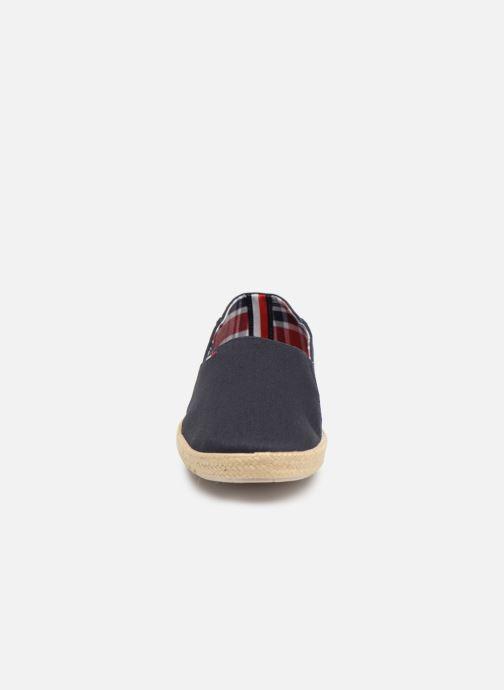 Espadrilles Tommy Hilfiger Easy summer slip on Bleu vue portées chaussures