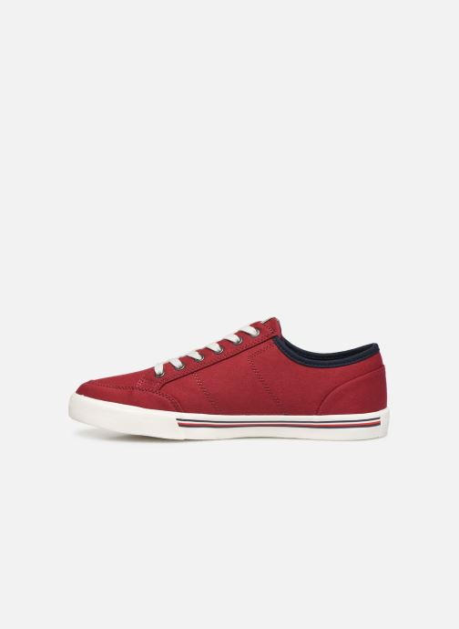 Sneakers Tommy Hilfiger CORE CORPORATE TEXTILE SNEAKER Rosso immagine frontale