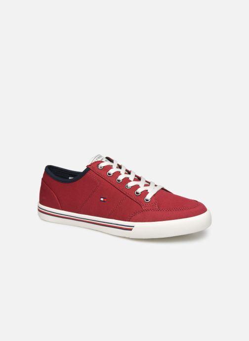 Sneakers Tommy Hilfiger CORE CORPORATE TEXTILE SNEAKER Rosso vedi dettaglio/paio