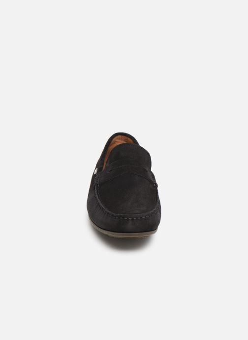 Mocassins Tommy Hilfiger CLASSIC SUEDE PENNY LOAFER Bleu vue portées chaussures