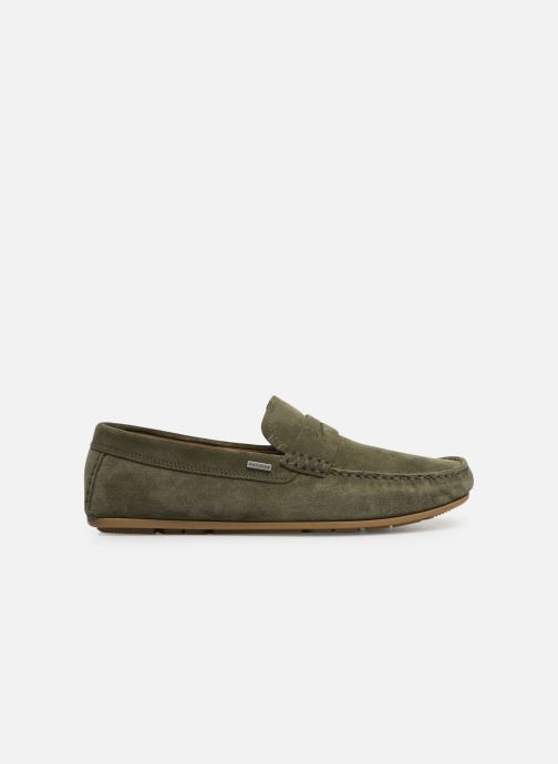 Mocassins Tommy Hilfiger CLASSIC SUEDE PENNY LOAFER Groen achterkant