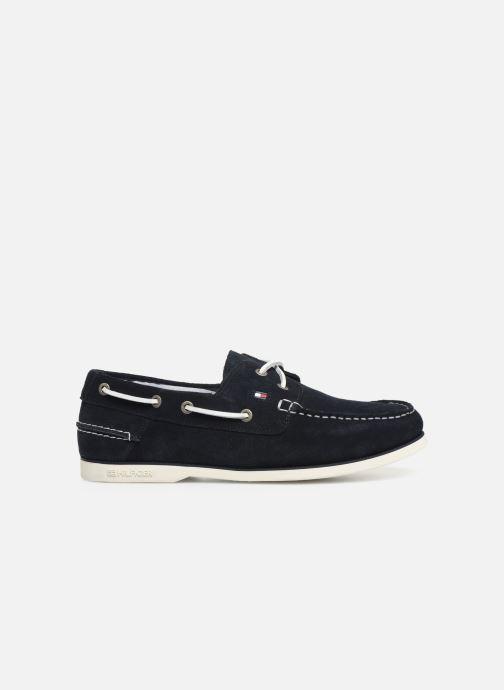 Chaussures à lacets Tommy Hilfiger Classic suede boatshoe Bleu vue derrière