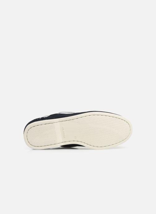 Chaussures à lacets Tommy Hilfiger Classic suede boatshoe Bleu vue haut