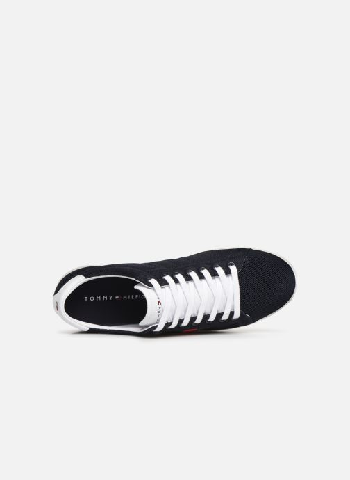 Sneakers Tommy Hilfiger ESSENTIAL FLAG DETAIL SNEAKER Azzurro immagine sinistra