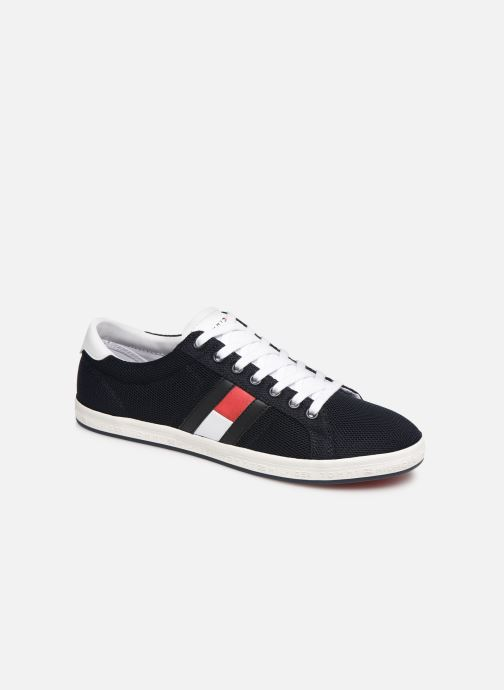 Baskets Tommy Hilfiger ESSENTIAL FLAG DETAIL SNEAKER Bleu vue détail/paire