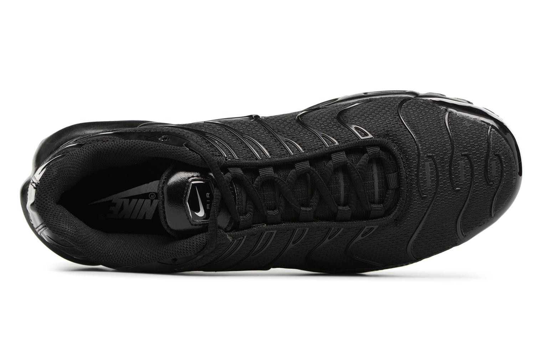 Sneaker Nike Air Max Plus schwarz ansicht von links