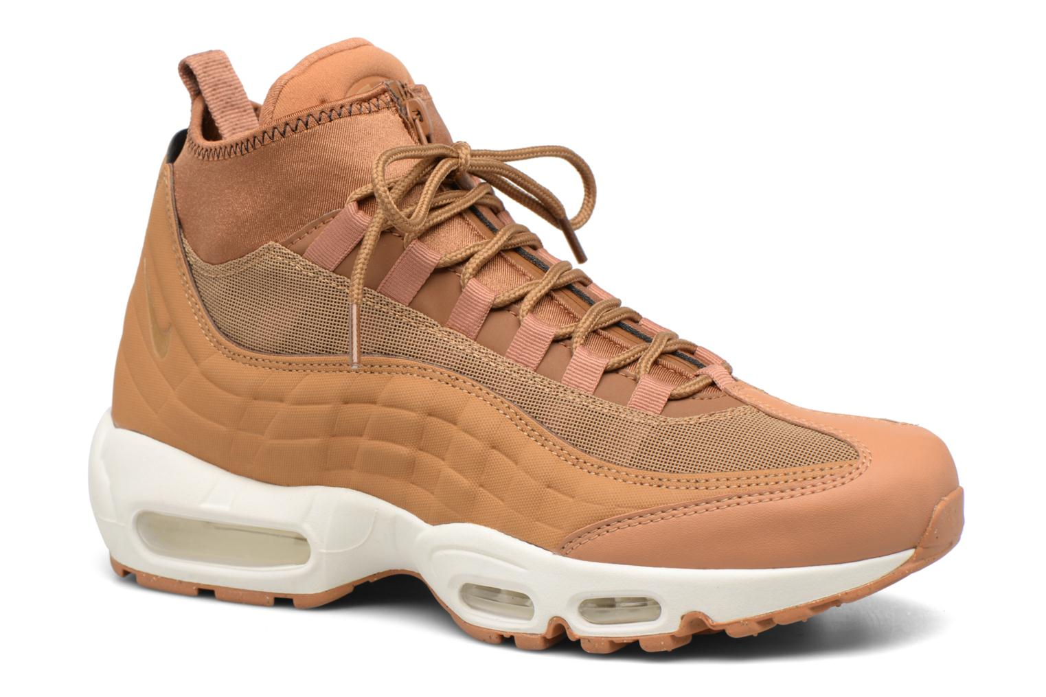 Baskets Nike Nike Air Max 95 Sneakerboot Marron vue détail/paire