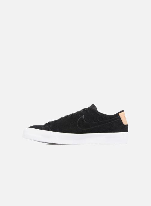 Sneaker Nike Blazer Studio Low schwarz ansicht von vorne