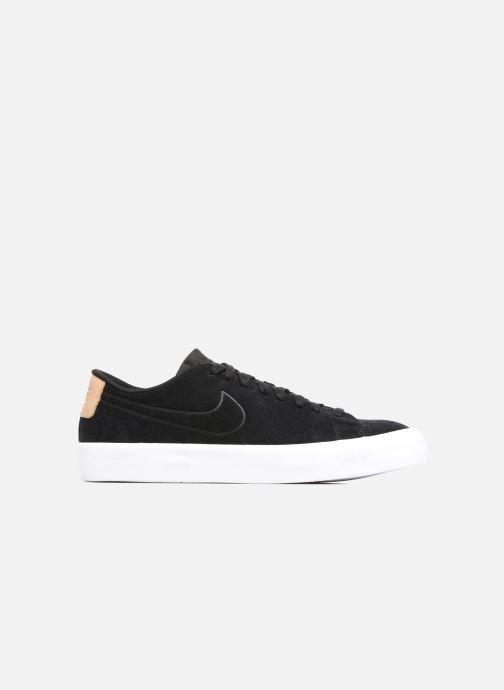 Sneaker Nike Blazer Studio Low schwarz ansicht von hinten