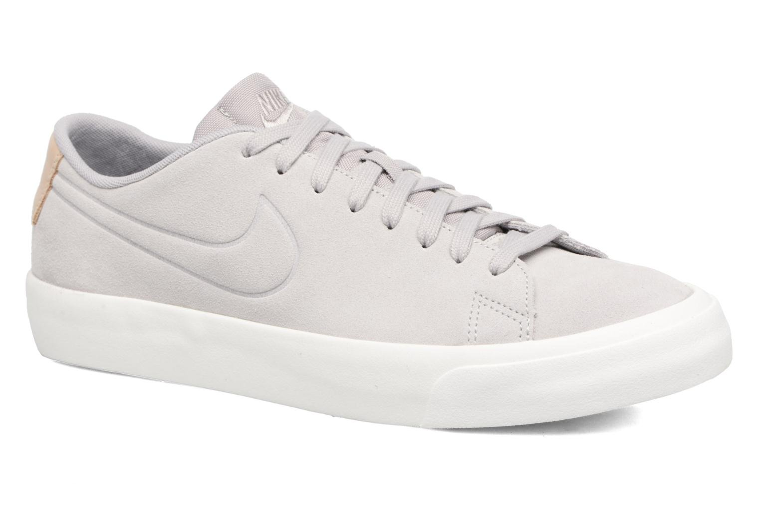 Baskets Nike Blazer Studio Low Gris vue détail/paire
