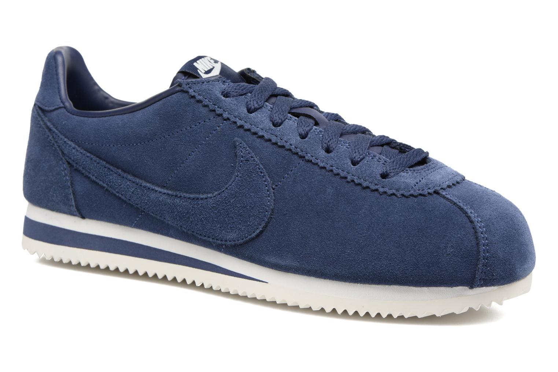Baskets Nike Classic Cortez Se Bleu vue détail/paire