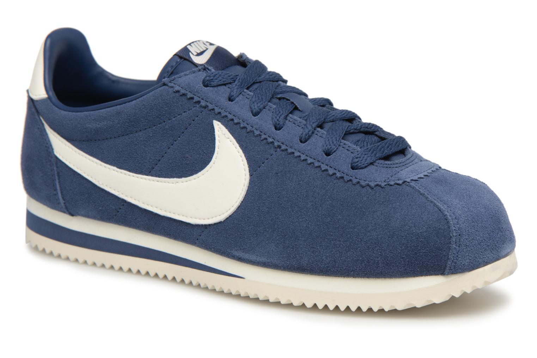 Nike Classic Cortez Se (Bleu) - Baskets en Más cómodo Mode pas cher et belle