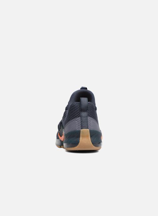 Sportschuhe Nike Nike Zoom Train Command blau ansicht von rechts