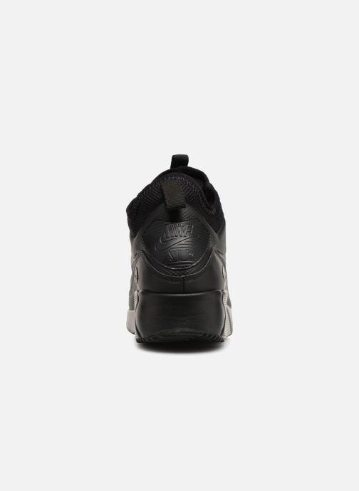 Sneaker Nike Air Max 90 Ultra Mid Winter schwarz ansicht von rechts