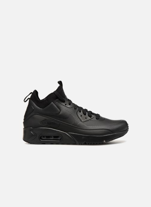 Sneaker Nike Air Max 90 Ultra Mid Winter schwarz ansicht von hinten