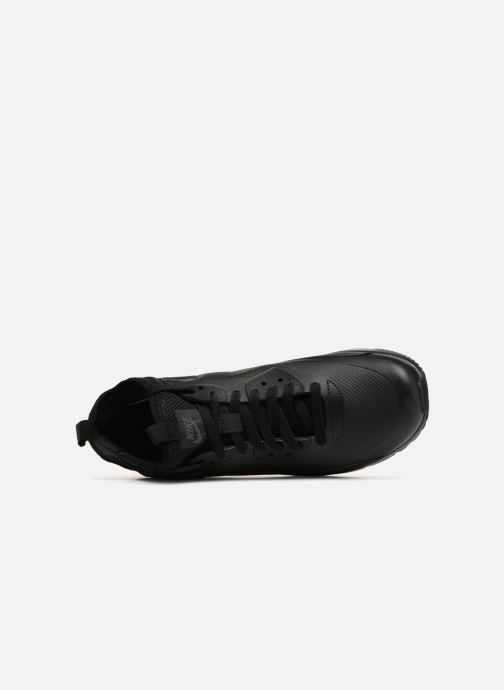Sneakers Nike Air Max 90 Ultra Mid Winter Zwart links