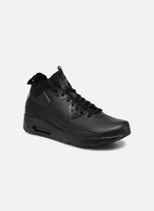 Sneaker Nike Air Max 90 Ultra Mid Winter schwarz detaillierte ansicht/modell