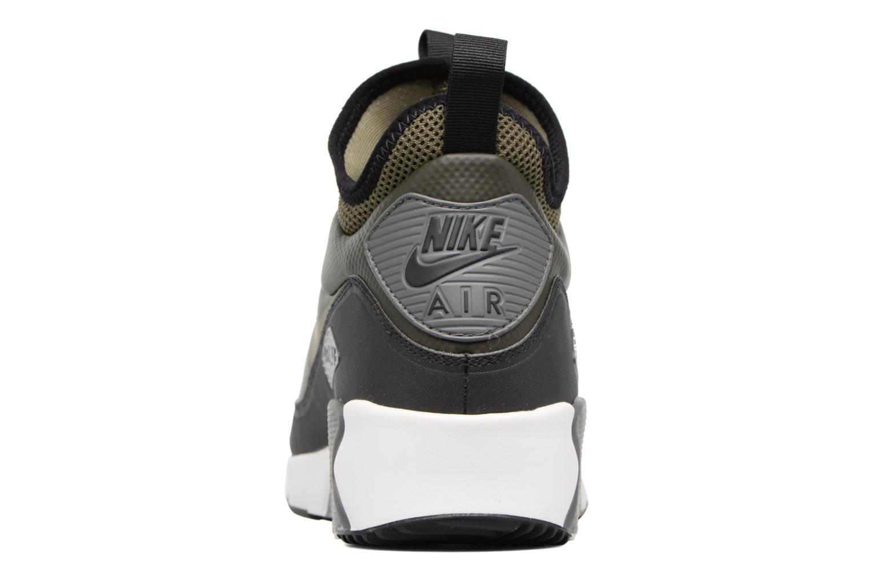 Baskets Nike Air Max 90 Ultra Mid Winter Vert vue droite