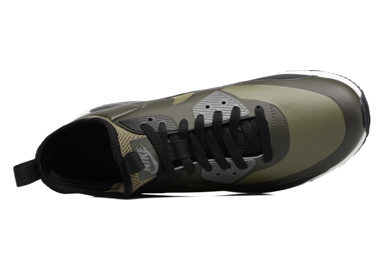 Baskets Nike Air Max 90 Ultra Mid Winter Vert vue gauche