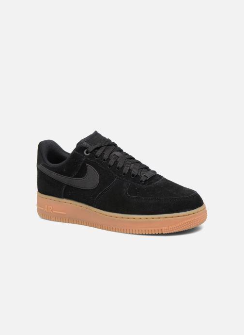 sale retailer c2a05 a4702 Baskets Nike Air Force 1  07 Lv8 Suede Noir vue détail paire