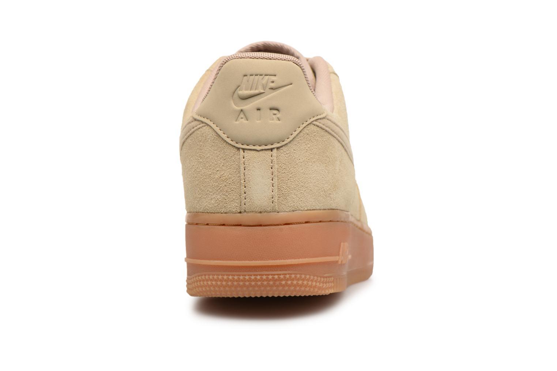 Baskets Nike Air Force 1 '07 Lv8 Suede Beige vue droite