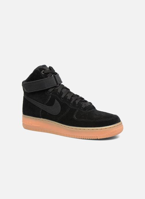 more photos ae2a5 0ea5e Baskets Nike Air Force 1 High  07 Lv8 Suede Noir vue détail paire