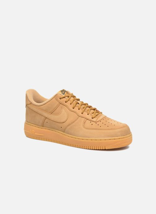 separation shoes 7490b 4afe8 Sneaker Nike Air Force 1 07 Wb braun detaillierte ansichtmodell