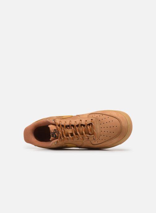 Baskets Nike Air Force 1 '07 Wb Marron vue gauche