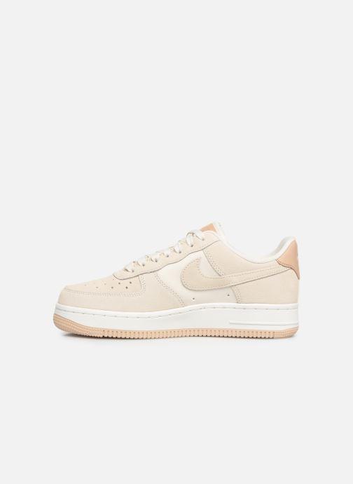 Sneaker Nike Wmns Air Force 1 '07 Prm beige ansicht von vorne