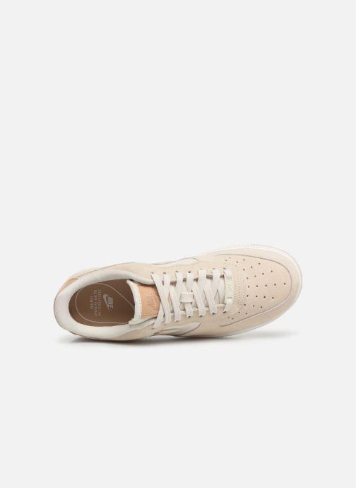 Sneaker Nike Wmns Air Force 1 '07 Prm beige ansicht von links