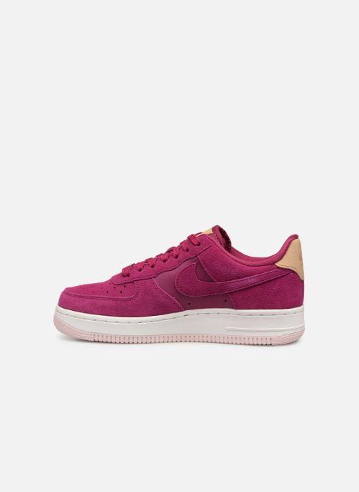 Sneaker Nike Wmns Air Force 1 '07 Prm rosa ansicht von vorne