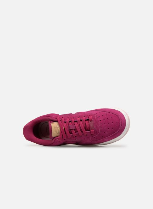 Sneaker Nike Wmns Air Force 1 '07 Prm rosa ansicht von links