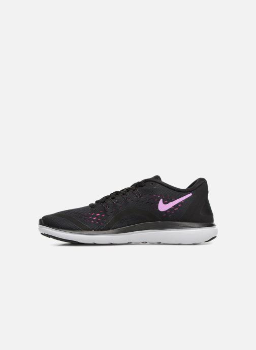 Sport shoes Nike Wmns Nike Flex 2017 Rn Black front view