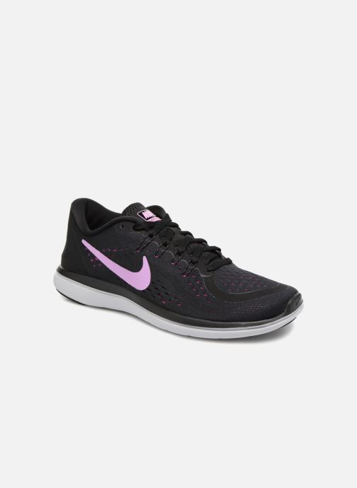 Sport shoes Nike Wmns Nike Flex 2017 Rn Black detailed view/ Pair view