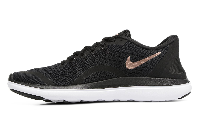 Chaussures de sport Nike Wmns Nike Flex 2017 Rn Noir vue face