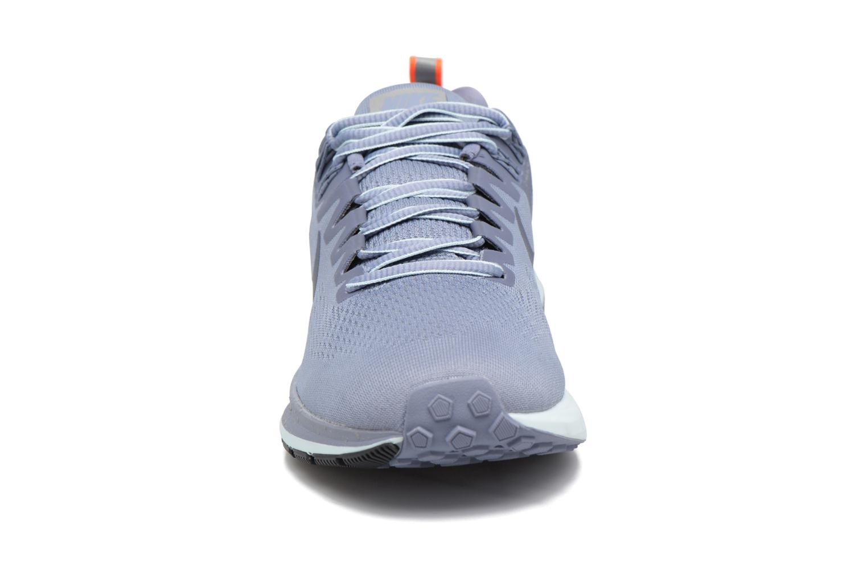 Chaussures de sport Nike W Air Zoom Structure 21 Shield Bleu vue portées chaussures