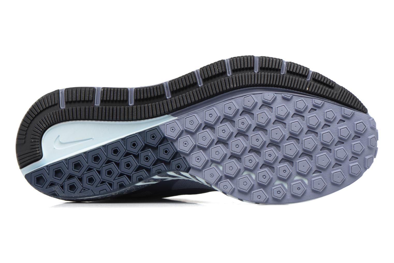 Chaussures de sport Nike W Air Zoom Structure 21 Shield Bleu vue haut