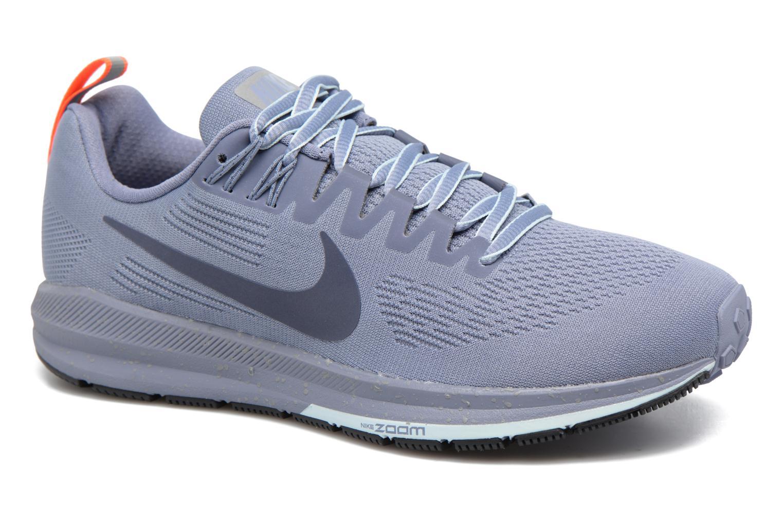 Chaussures de sport Nike W Air Zoom Structure 21 Shield Bleu vue détail/paire