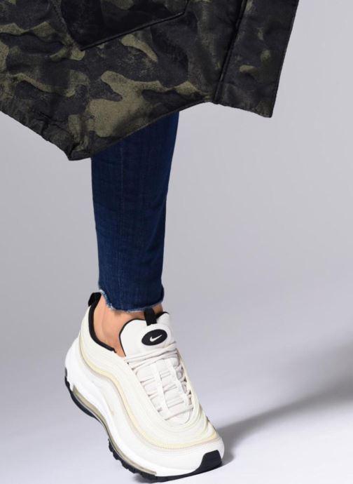 Baskets Nike W Air Max 97 Vert vue bas / vue portée sac