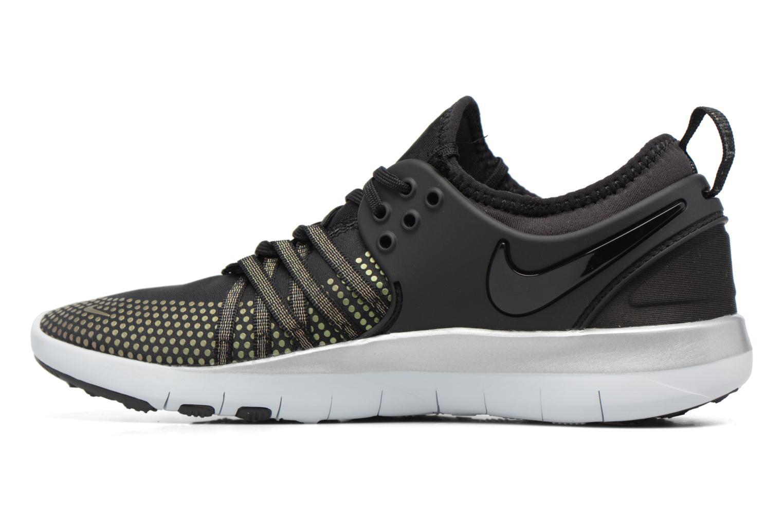Sport shoes Nike Wmns Nike Free Tr 7 Mtlc Black front view