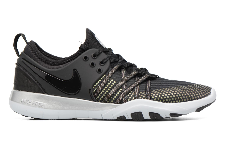 Sport shoes Nike Wmns Nike Free Tr 7 Mtlc Black back view