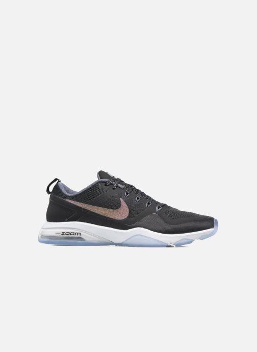 Sportschuhe Nike W Nike Air Zoom Fitness Mtlc schwarz ansicht von hinten 4f7d9ee6d2