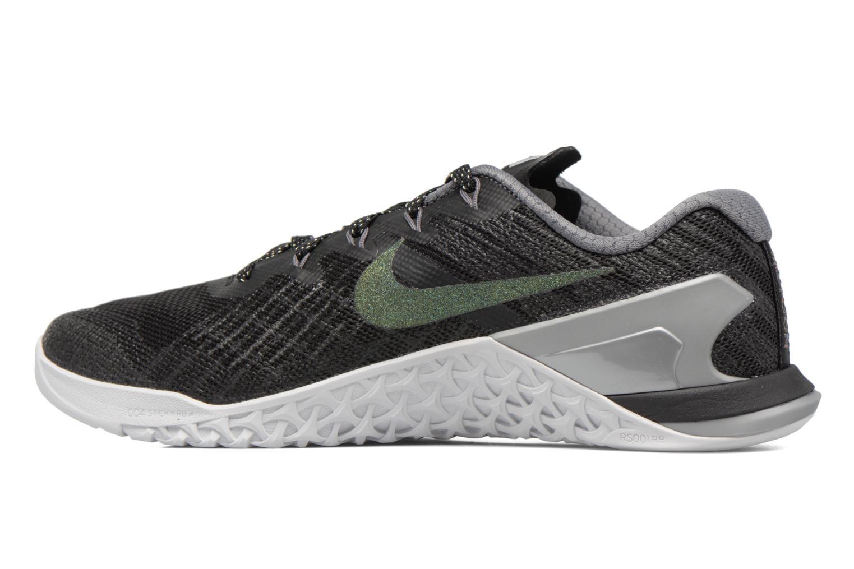 Sportschuhe Nike Wmns Nike Metcon 3 Mtlc blau ansicht von vorne