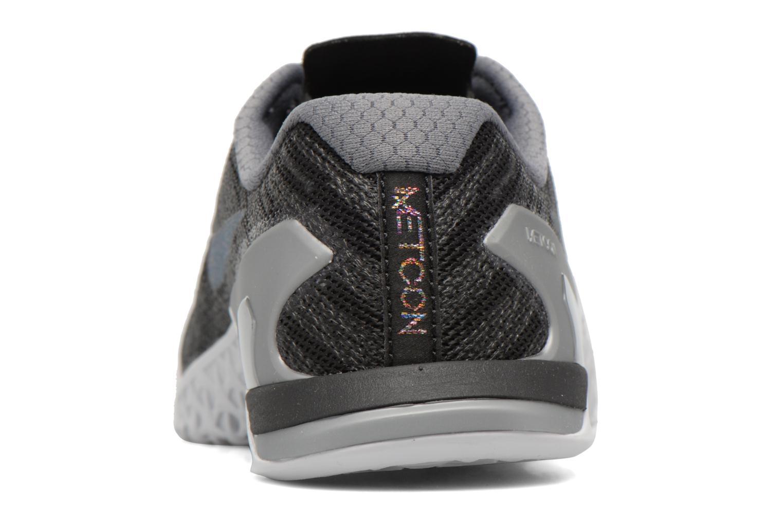 Sportschuhe Nike Wmns Nike Metcon 3 Mtlc blau ansicht von rechts