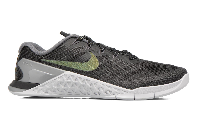 Sportschuhe Nike Wmns Nike Metcon 3 Mtlc blau ansicht von hinten