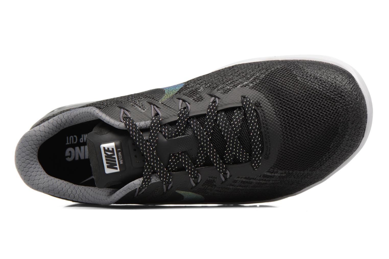 Sportschuhe Nike Wmns Nike Metcon 3 Mtlc blau ansicht von links